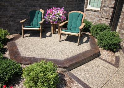 Exposed Aggregate and Stamped Concrete Design